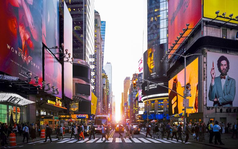 times square - 3 Times Square